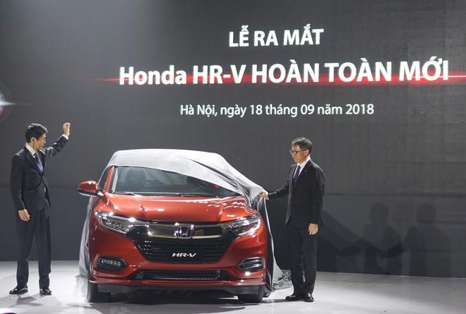 Honda HR-V ra mat tai Viet Nam, gia tu 786 trieu dong hinh anh