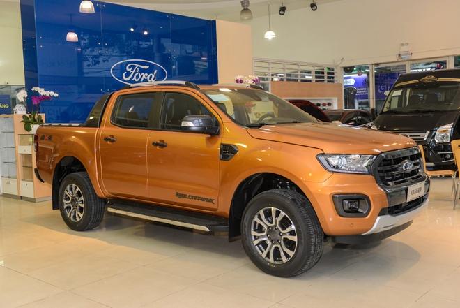 Ford Ranger Wildtrak 2019 gia 918 trieu dong ve dai ly hinh anh
