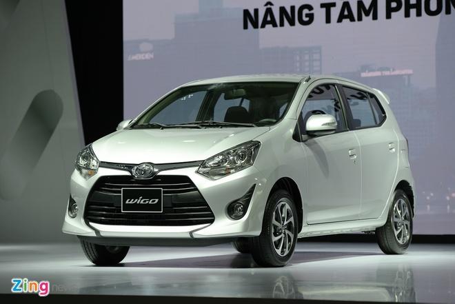 Toyota ra mat 3 xe nhap khau tai Viet Nam, gia tu 345 trieu dong hinh anh 1