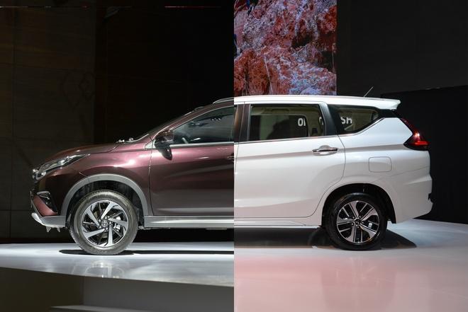 So sanh Toyota Rush va Mitsubishi Xpander - cap doi thu moi tai VN hinh anh