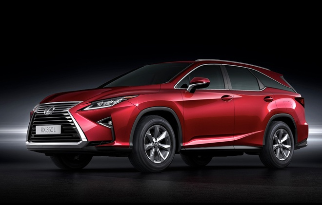 Lexus RX 7 cho ngoi co gia ban 4,09 ty dong tai Viet Nam hinh anh