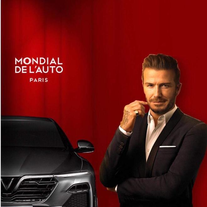 David Beckham du le ra mat VinFast tai Paris Motor Show hinh anh