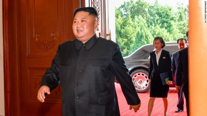 Ong Kim Jong Un xuat hien cung chiec Rolls-Royce Phantom hinh anh 1