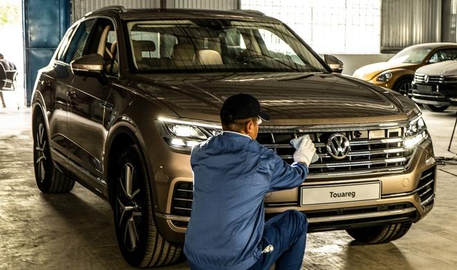 Volkswagen Touareg 2019 dau tien ve Viet Nam hinh anh