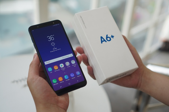 Đánh giá Samsung Galaxy A6+: Màn hình rực rỡ, pin tốt - Công nghệ