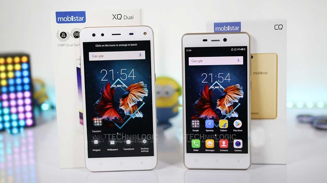Day la 2 mau smartphone Viet Nam vua ra mat tai An Do hinh anh