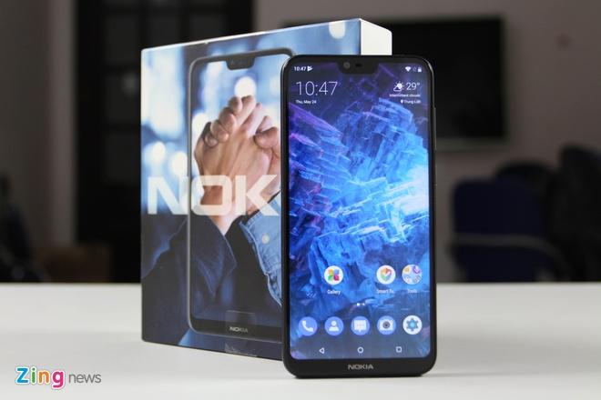 trai nghiem Nokia X6 tai Viet Nam anh 1