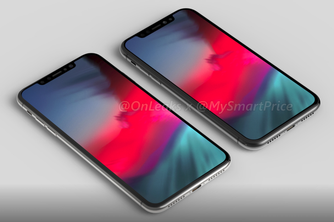 iPhone X Plus dat do va iPhone 6,1 inch gia re lo dien hinh anh