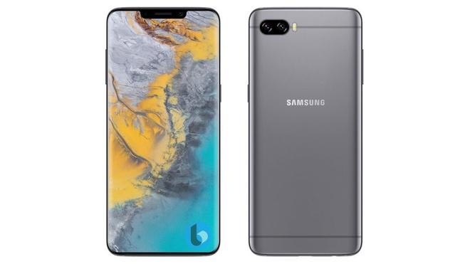 Galaxy S10 duoc tich hop cam bien van tay duoi man hinh hinh anh