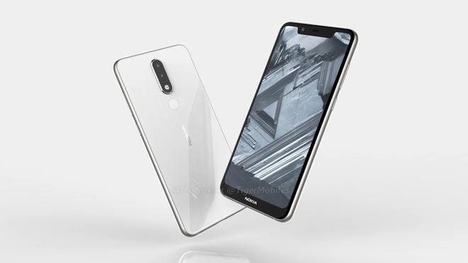 Nokia 5.1 Plus lo dien - man hinh 'tai tho', camera kep hinh anh