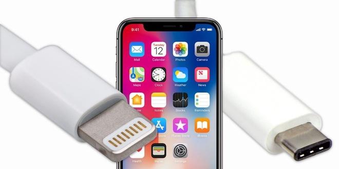 iPhone 2018 co the thay cong Lightning bang USB-C hinh anh