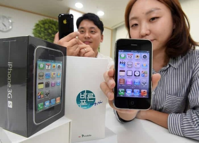 iPhone 3GS duoc nha mang Han Quoc ban voi gia 40 USD hinh anh