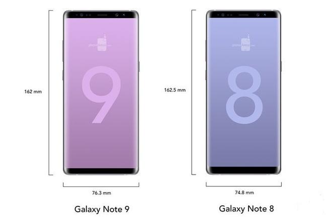 Galaxy Note 9 co the dung man hinh vo cuc, dang giong Note 8 hinh anh 1