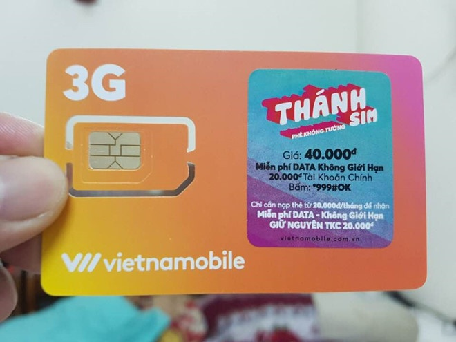 Sau con sot 'Thanh SIM', Vietnamobile tiep tuc tung 'Sieu thanh SIM' hinh anh 1