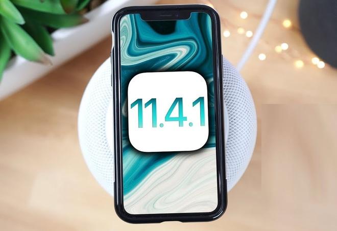 Apple ra iOS 11.4.1 kem tinh nang khien hacker kho so hinh anh