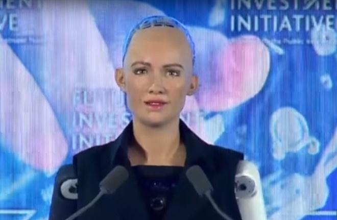 Sophia - cong dan robot dau tien tren the gioi sap den Viet Nam hinh anh 1