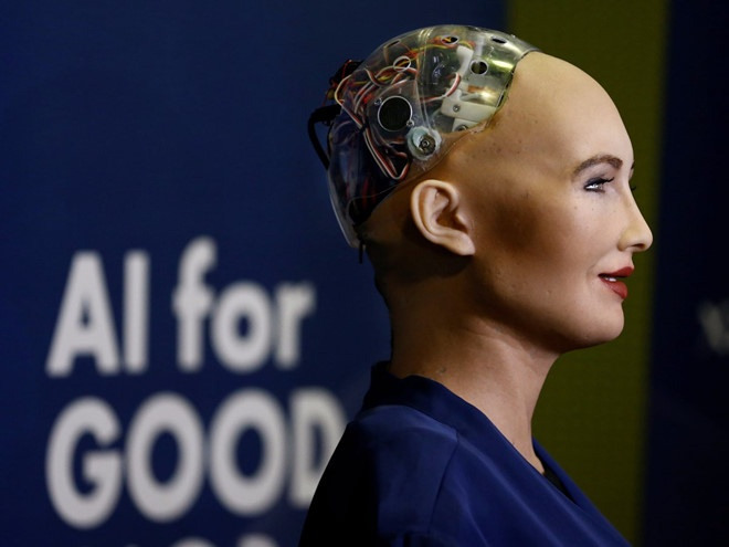 Sophia - cong dan robot dau tien tren the gioi sap den Viet Nam hinh anh