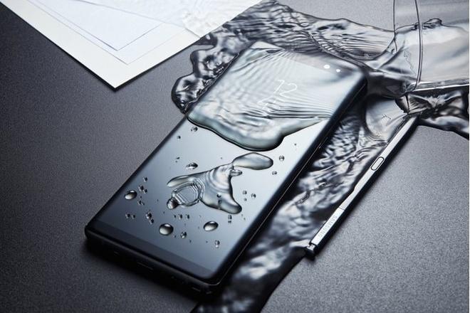 Galaxy Note 9 se co man hinh 6,3 inch cong tran hai canh hinh anh