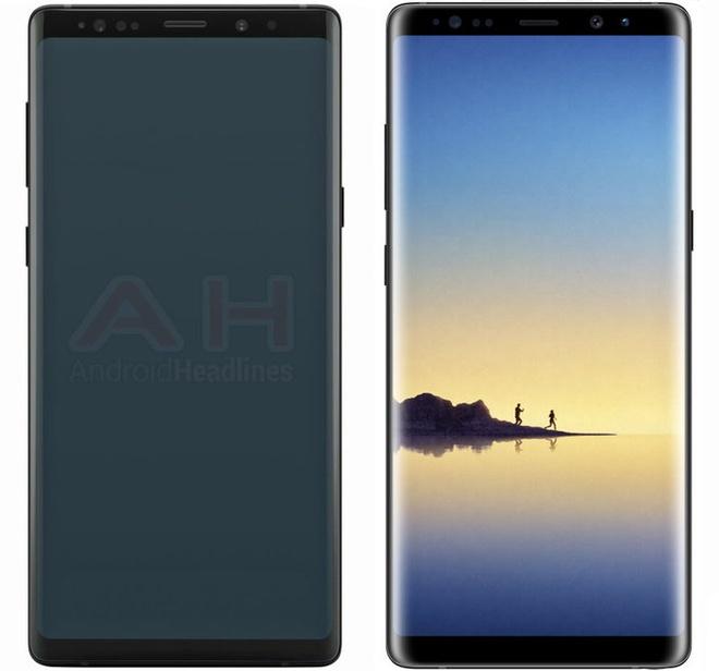 Galaxy Note 9 se co man hinh 6,3 inch cong tran hai canh hinh anh 1