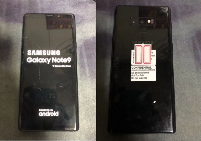 Samsung Galaxy Note 9 lo hinh anh thuc te hinh anh