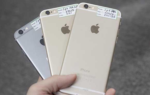 iPhone 6, 6S và iPhone 7 Plus lock là những chiếc máy bán chạy nhất.