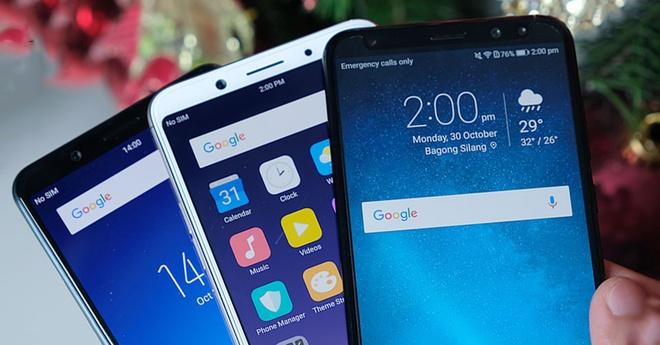 Loat smartphone tam trung duoi 7 trieu dang mua tai Viet Nam hinh anh