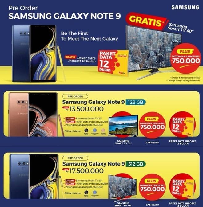 Samsung Galaxy Note9 lo gia ban hinh anh 1