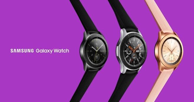 Dong ho Galaxy Watch, loa thong minh Galaxy Home trinh lang hinh anh 2