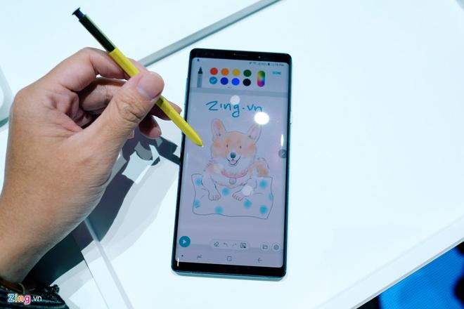 7 tinh nang hap dan tren but S Pen cua Galaxy Note9 hinh anh 7