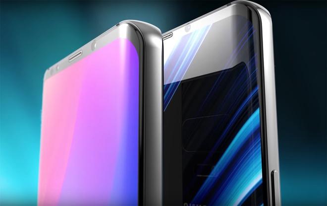 Samsung Galaxy S10 xuat hien cuc dep trong concept moi hinh anh