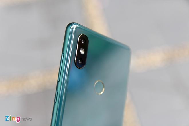 Xiaomi Mi Mix 2S xanh ngoc luc bao anh 5