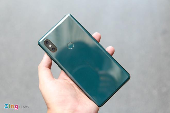 Xiaomi Mi Mix 2S xanh ngoc luc bao anh 6