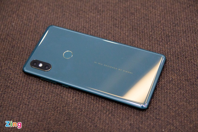 Xiaomi Mi Mix 2S xanh ngoc luc bao anh 8