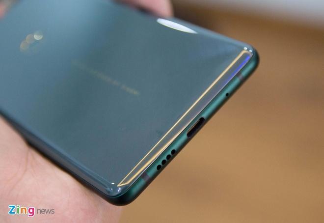 Xiaomi Mi Mix 2S xanh ngoc luc bao anh 7