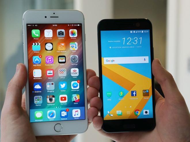 Mot so fan Android chuyen qua iPhone vi trai nghiem tot hon hinh anh