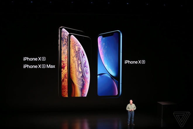 iPhone XS, XS Max, XR ra mat: Camera va pin tot hon, co ban 2 SIM hinh anh