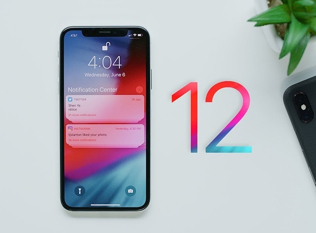 iOS 12 dang giet chet iPhone X? hinh anh