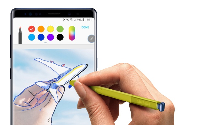 Cong nghe ben trong cay but S Pen cua Galaxy Note9 hinh anh