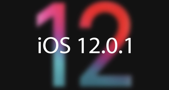Apple phat hanh iOS 12.0.1, sua nhieu loi tren iPhone hinh anh