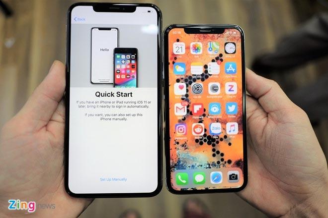 iPhone XS xach tay ha gia cham day van e am o VN hinh anh 1