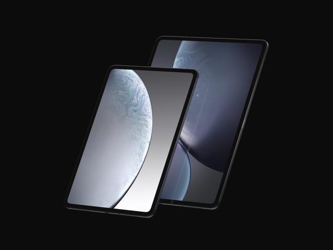 Ban mau iPad Pro 2018 - man hinh tran vien, ho tro Face ID hinh anh