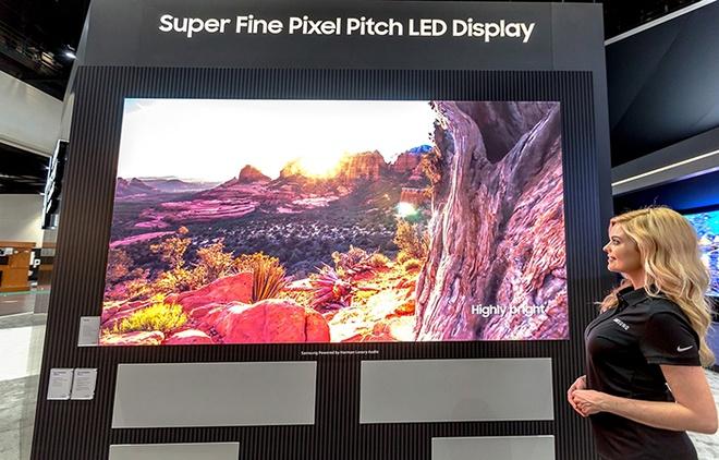 Samsung ra mat hai dong man hinh LED cho gia dinh hinh anh