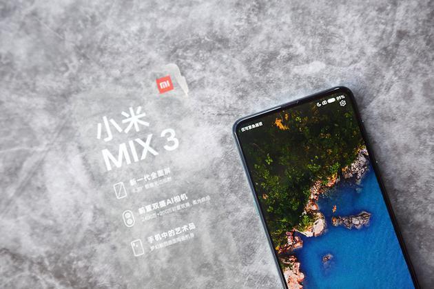 Chi tiet Xiaomi Mi Mix 3 - man hinh tran vien, camera truot bang tay hinh anh