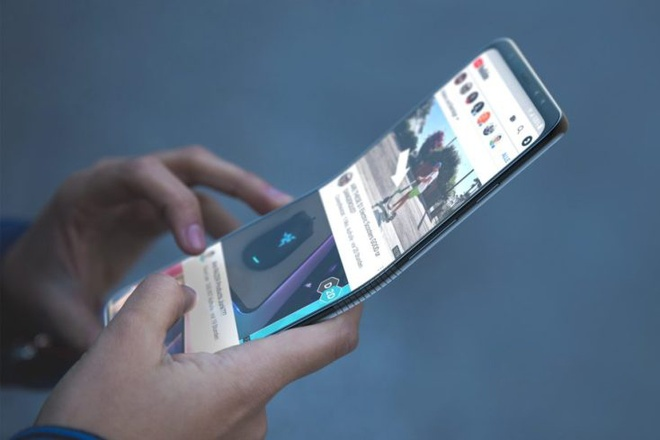 Smartphone man hinh gap, tich hop 5G se som ra mat hinh anh