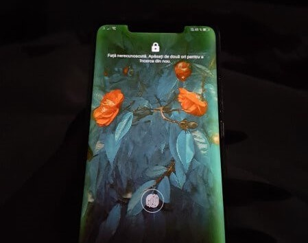 Bom tan Huawei Mate 20 Pro vua len ke da loi man hinh xanh hinh anh