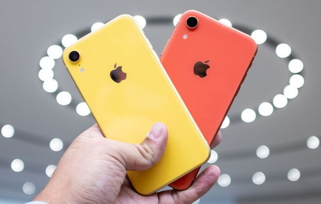 Sau 5C, iPhone XR co the la 'bom xit' tiep theo cua Apple tai VN hinh anh