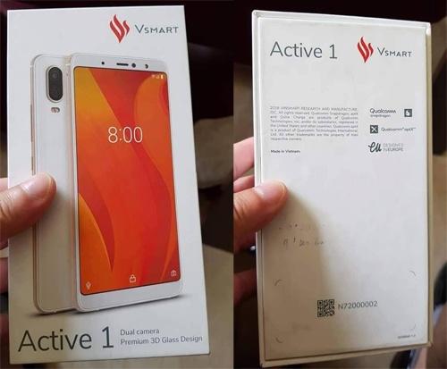 Lo anh smartphone duoc cho la cua Vinsmart hinh anh
