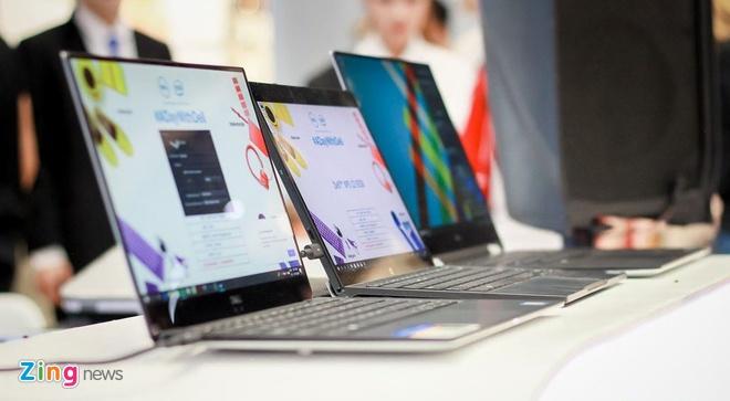Laptop 2-trong-1 mong nhat the gioi den Ha Noi hinh anh 1