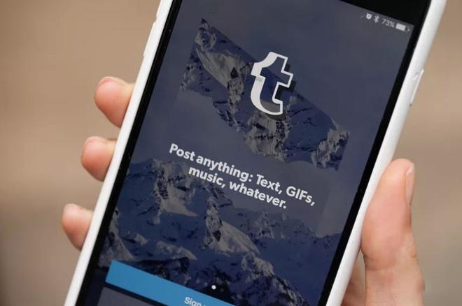 Ung dung mang xa hoi Tumblr bi go khoi App Store hinh anh