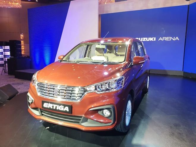 Xe 7 cho Suzuki Ertiga 2018 gia tu 10.500 USD tai An Do hinh anh